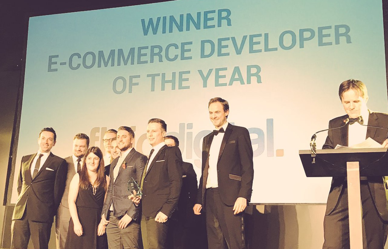 Fluid wins Ecommerce Developer of the Year 2016