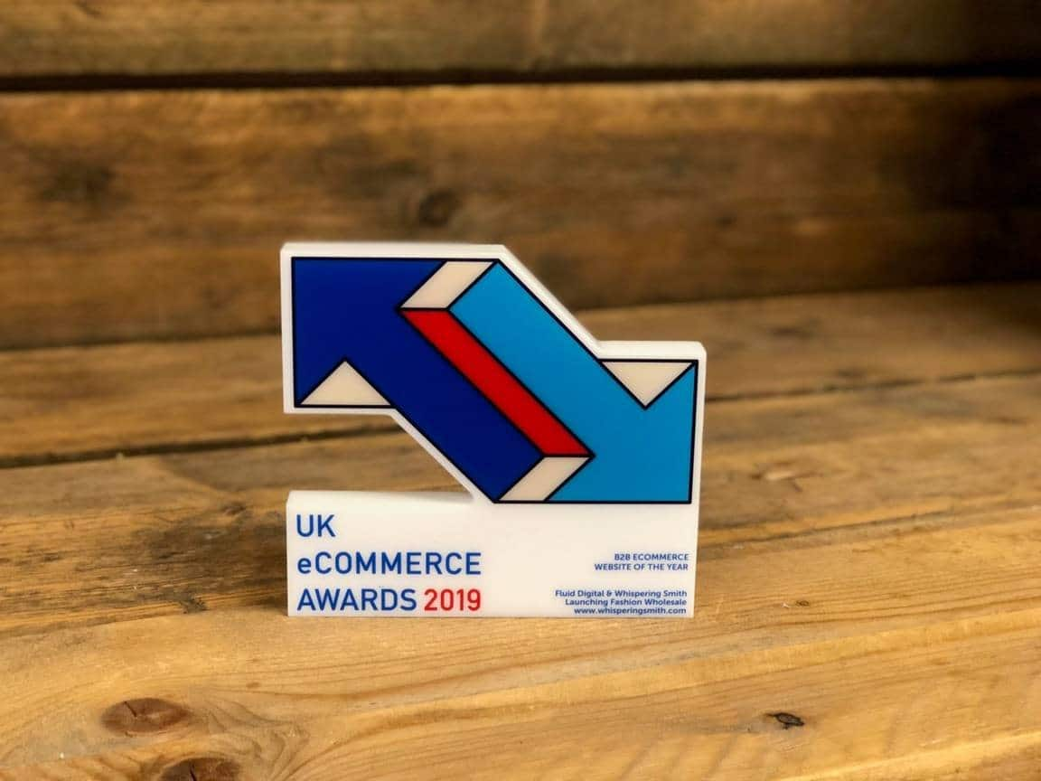 Fluid Digital Wins B2B Ecommerce Website of the Year for 2019