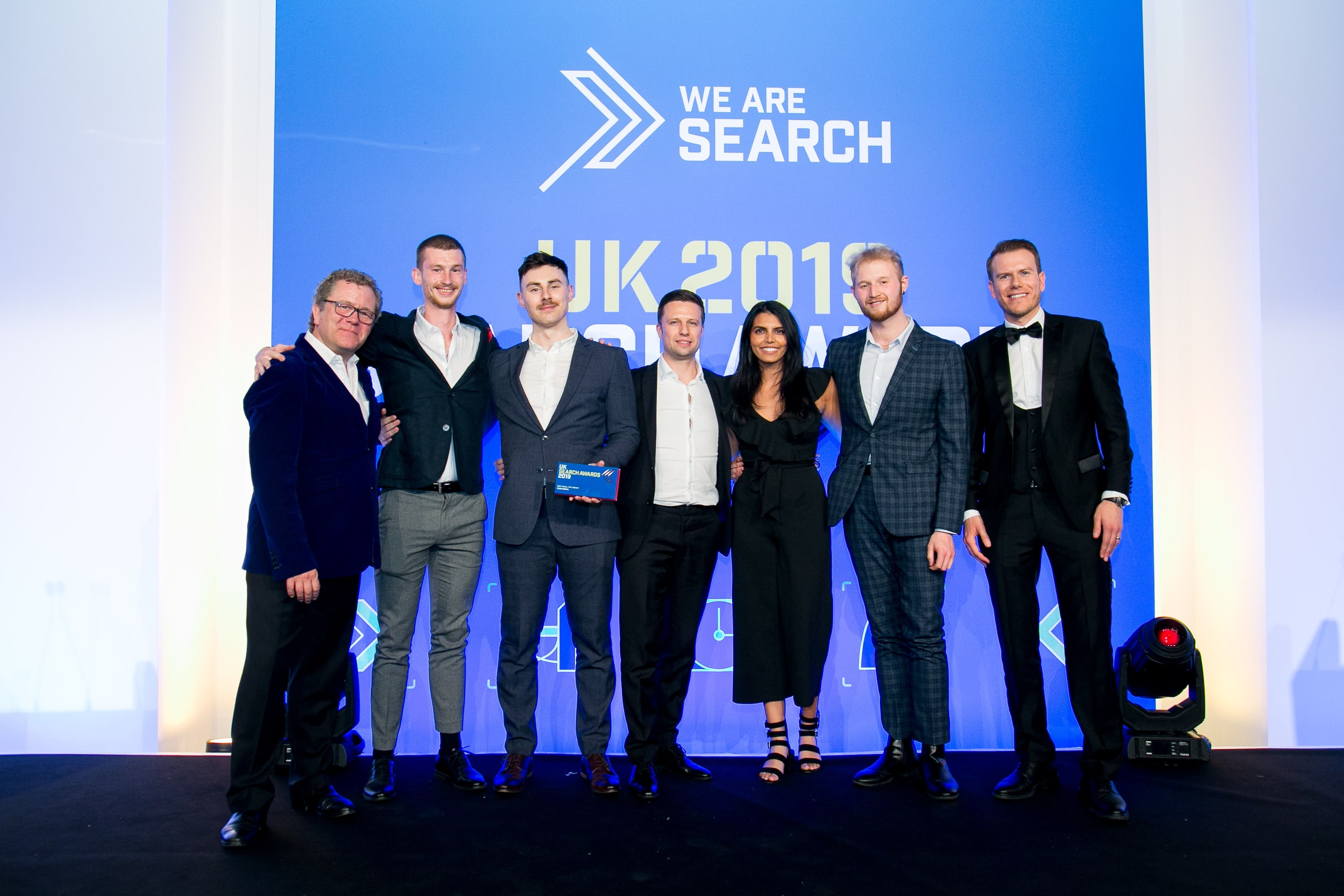 Fluid Digital Wins Best Small PPC Agency at the UK Search Awards 2019!