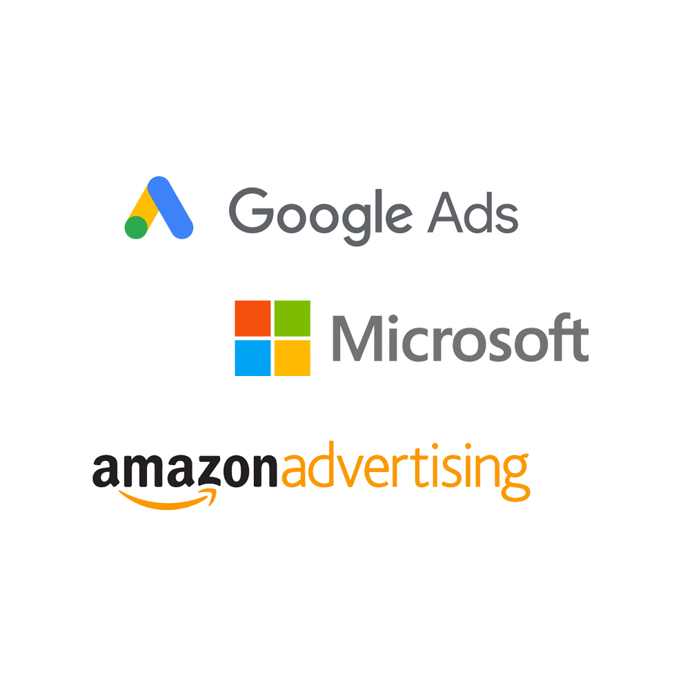 Google, Microsoft and Amazon